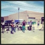 Frisco Streats School of Rock Band Performing