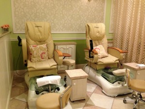 Serenity spa chairs