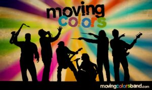moving colors band