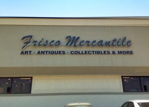 Frisco Mercantile sign