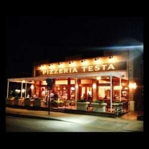 Pizzeria Testa At Night
