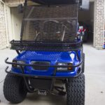 Epic Carts Blue Cart Front View