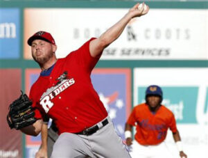 Harrison has looked sharp during his rehab starts for the RoughRiders.