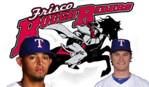 Two of the Rangers' brightest stars are with the RoughRiders.