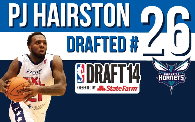 PJ Hairston drafted