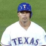 Former 'Rider, Jake Smolinski is batting a cool .500 with the Texas Rangers.