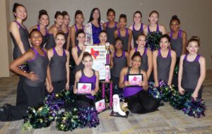 Independence HS Royals Drill Team