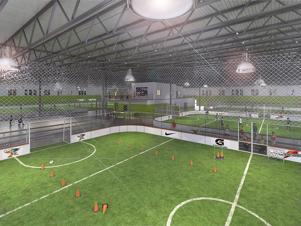 New 56 000 Square Foot Soccer Facility To Break Ground In