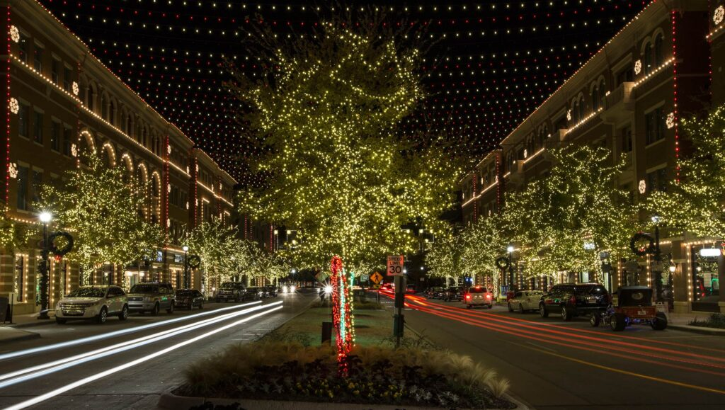 jeff trykoski architect for the christmas in the square lights in frisco tx. Black Bedroom Furniture Sets. Home Design Ideas