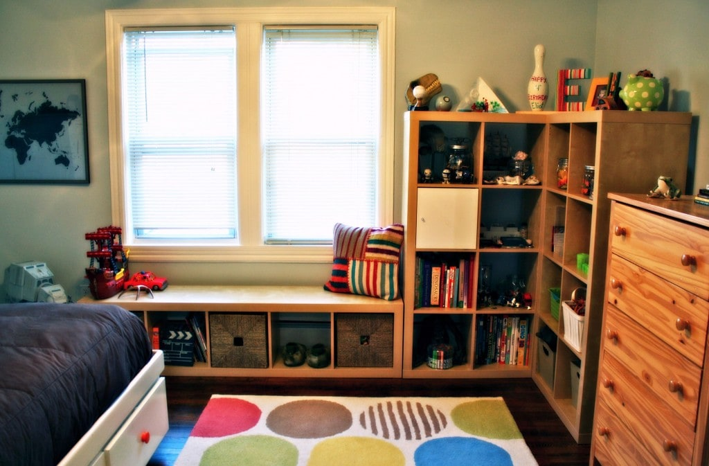 kids room clean