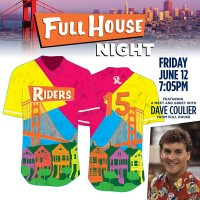The Full House jerseys were certainly eye-catching.