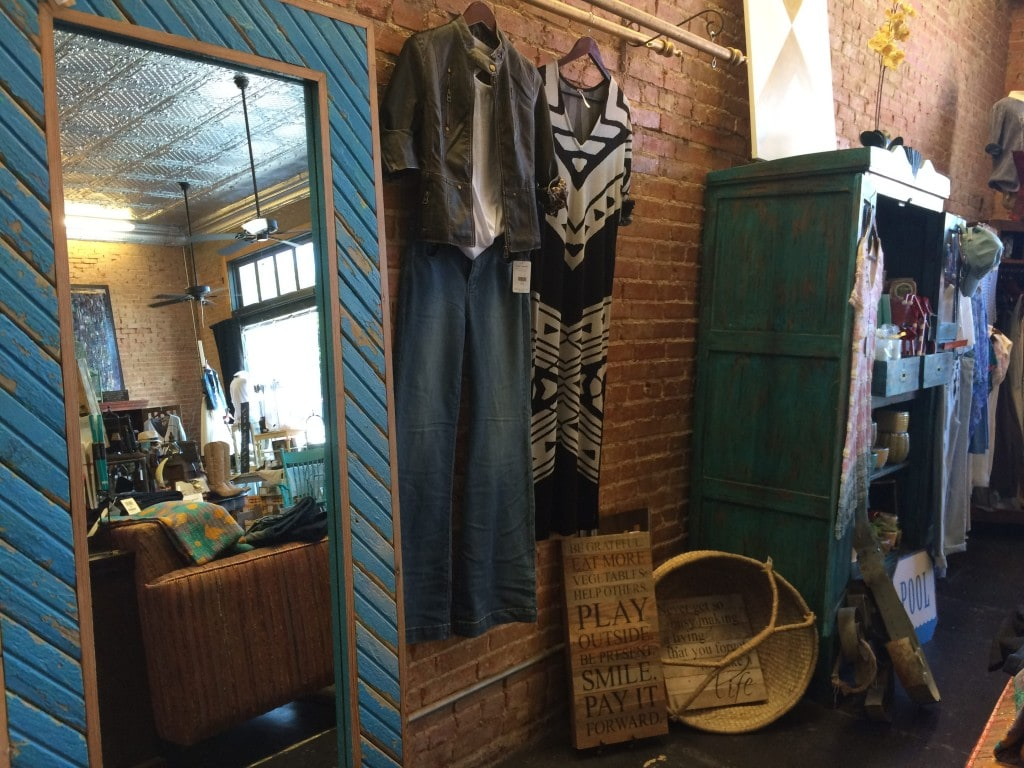 Cure Fashion Blues at the Blue Door Boutique in Frisco
