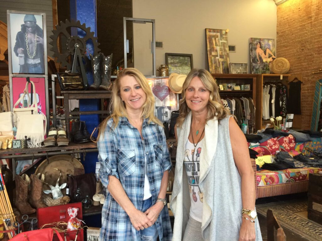 Blue Door owners - Glenda McMichael and JoAnn Fritz
