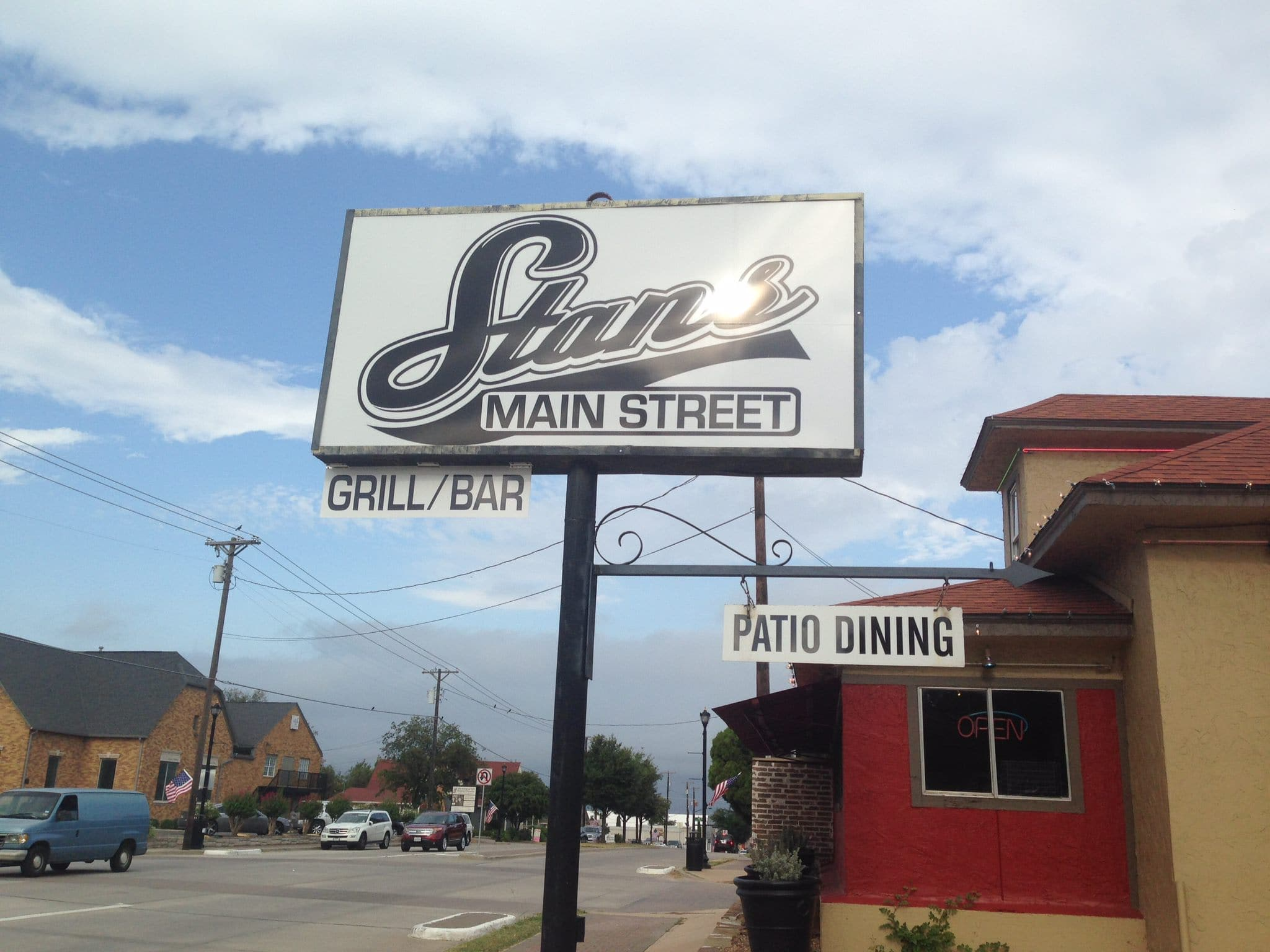 stans main street sign