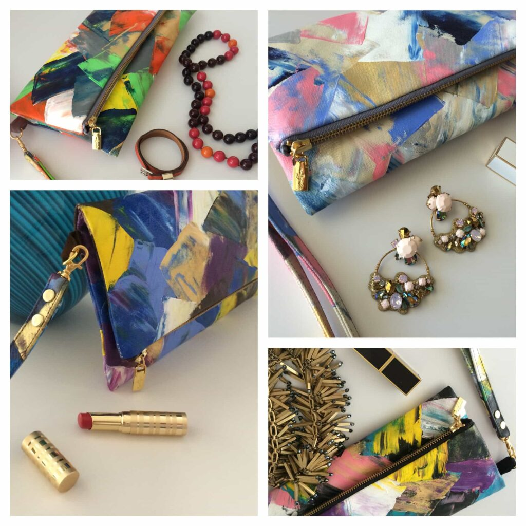 Wendistry clutch handbags at IBB Loves Local