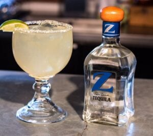 Z tequila and frozen margarita - Rockfish Seafood & Grill, Frisco TX