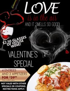 woodys-valentines-day in frisco