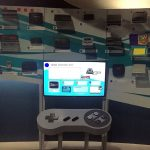 national video game museum console wall panorama