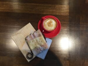 nerdvana-frisco-coffee-shop coffee and food