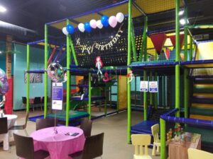 Jungle Joes birthday party