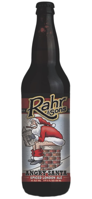 Rahr and sons angry santa