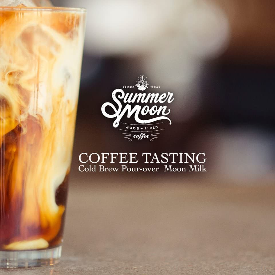 Summer Moon iced coffee
