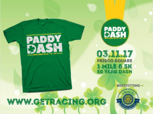 Paddy Dash @ Frisco Square