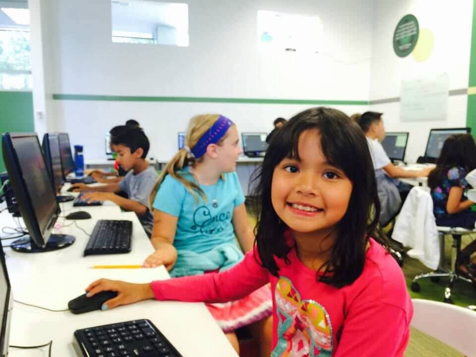 girls coding at theCoderSchool