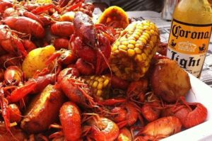 "2nd Annual Frisco Crawfish Festival ""Claws for Paws"" @ Rockin S Bar & Grill 