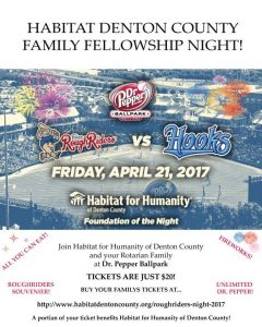 Fun, Family, Baseball, Food and Fireworks! Habitat at the Park @ Dr. Pepper Ballpark