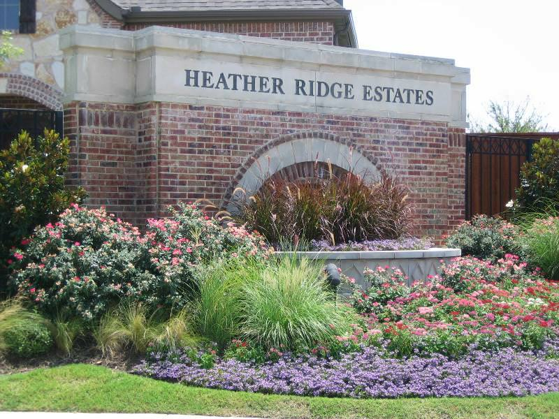 Heather Ridge Estates entrance