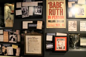 Babe-Ruth-Hall-of-Fame-exhibit