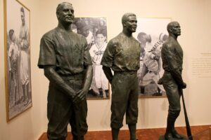 Gehrig-Robinson-Clemente-exhibit-at-Baseball-Hall-of-Fame-2014