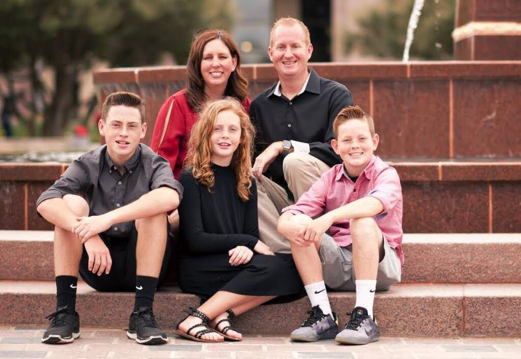 dana-cheney-and-family-in-frisco