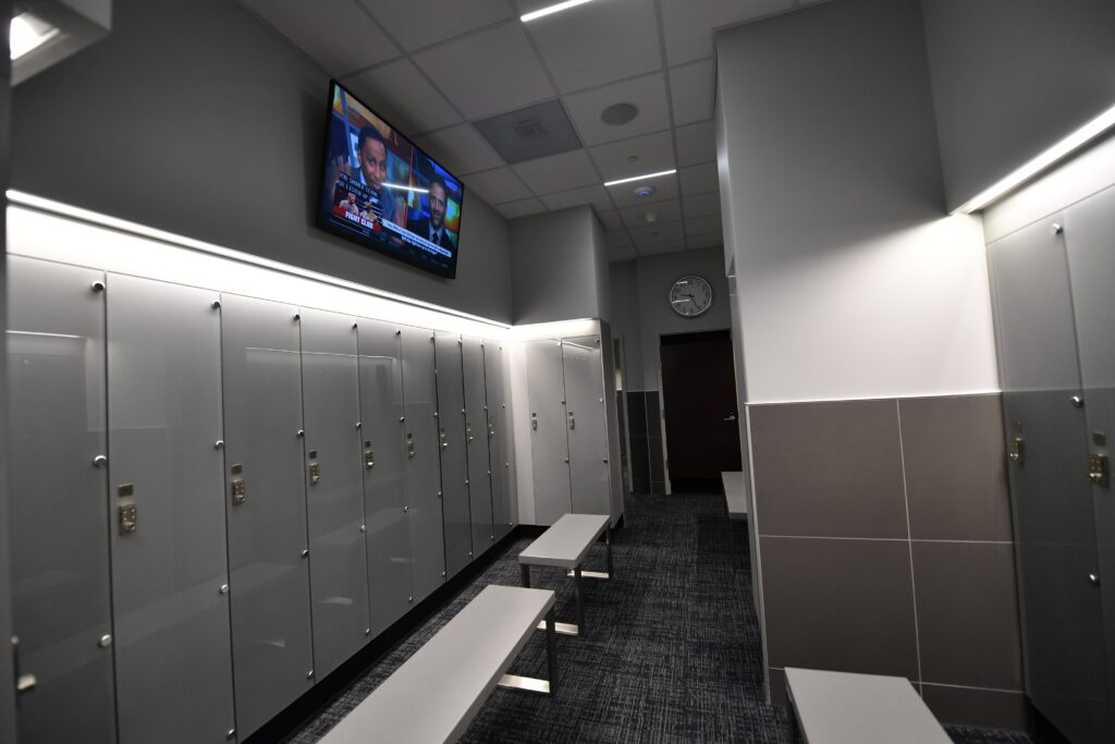 Cowboys Fit locker rooms