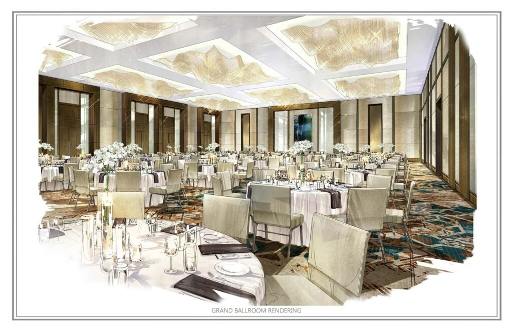The Star Ballroom - rendering