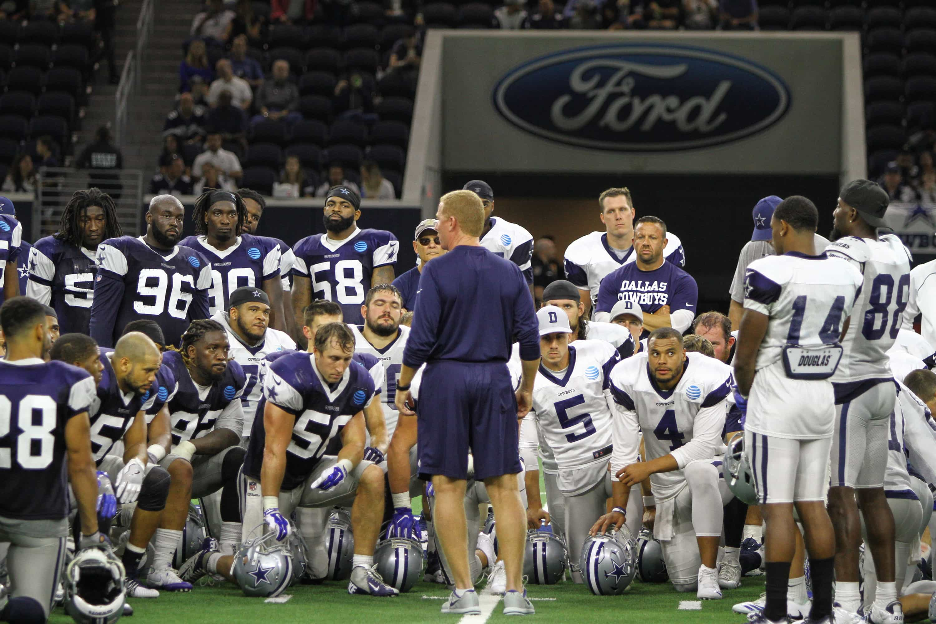 2017 Dallas Cowboys Training Camp at The Star in Frisco