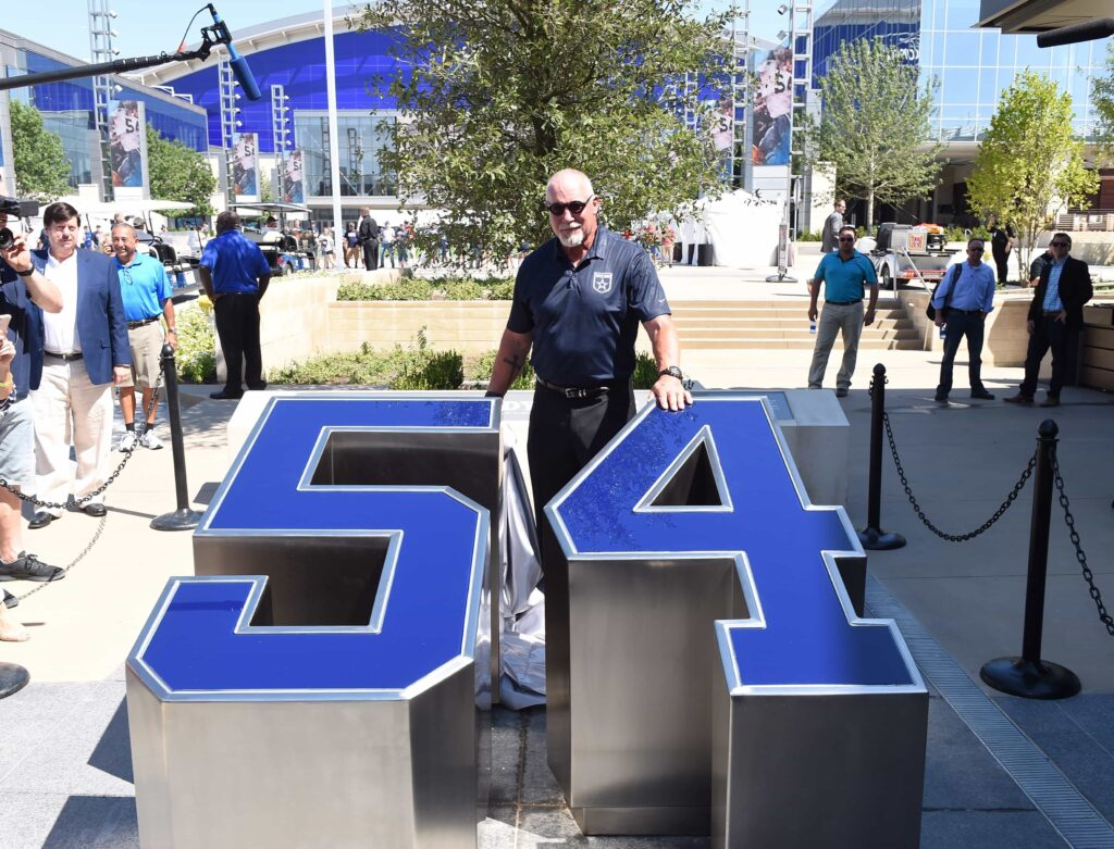 Randy White Ring of Honor Walk The Star Frisco
