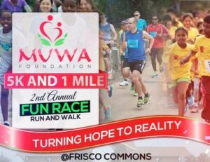 MUWA Foundation 5K and 1 Mile @ Frisco Commons Park
