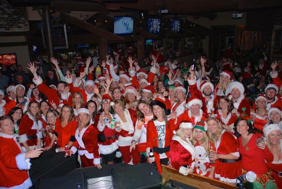 Frisco Santa Pub Crawl