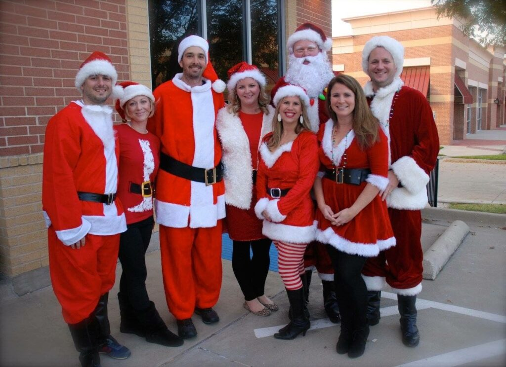Frisco Santa Pub Crawl committee