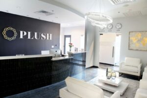 PLUSH Dentistry waiting room