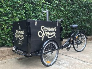 Summer Moon Frisco coffee cart
