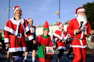 Christmas fun run