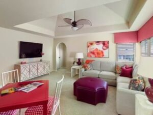 Nicole Arnold Interiors - open family room