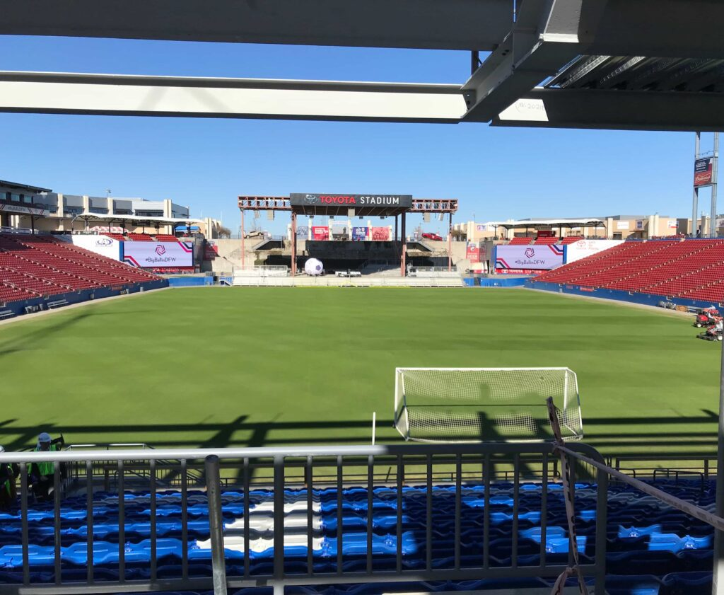 South end Toyota Stadium