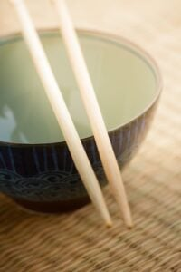 bowl chopsticks
