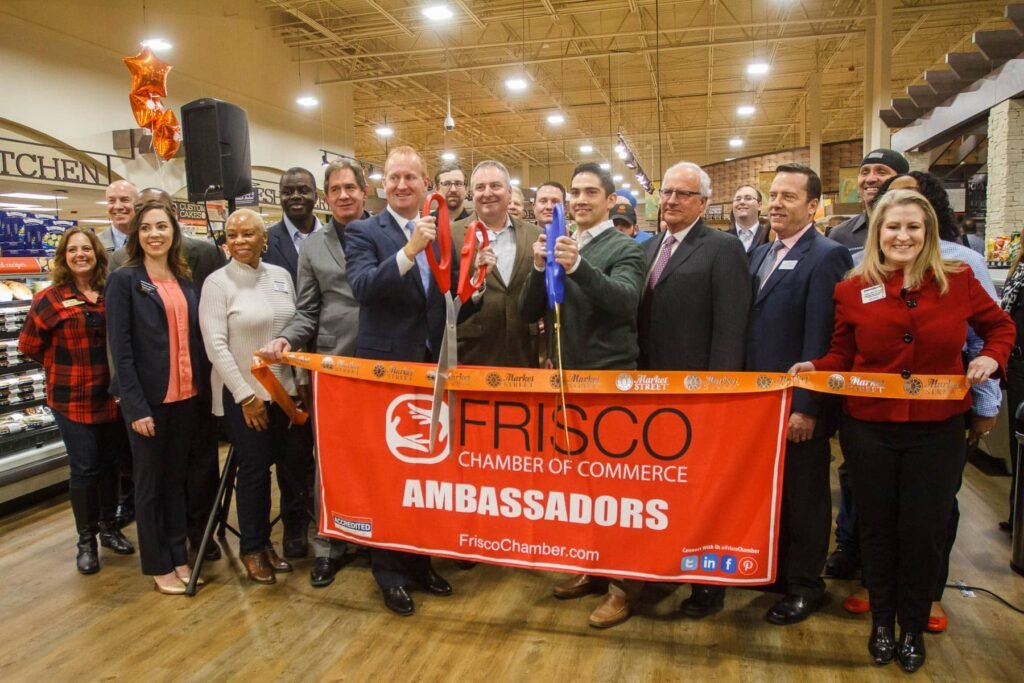 Market Street Frisco Ribbon Cutting