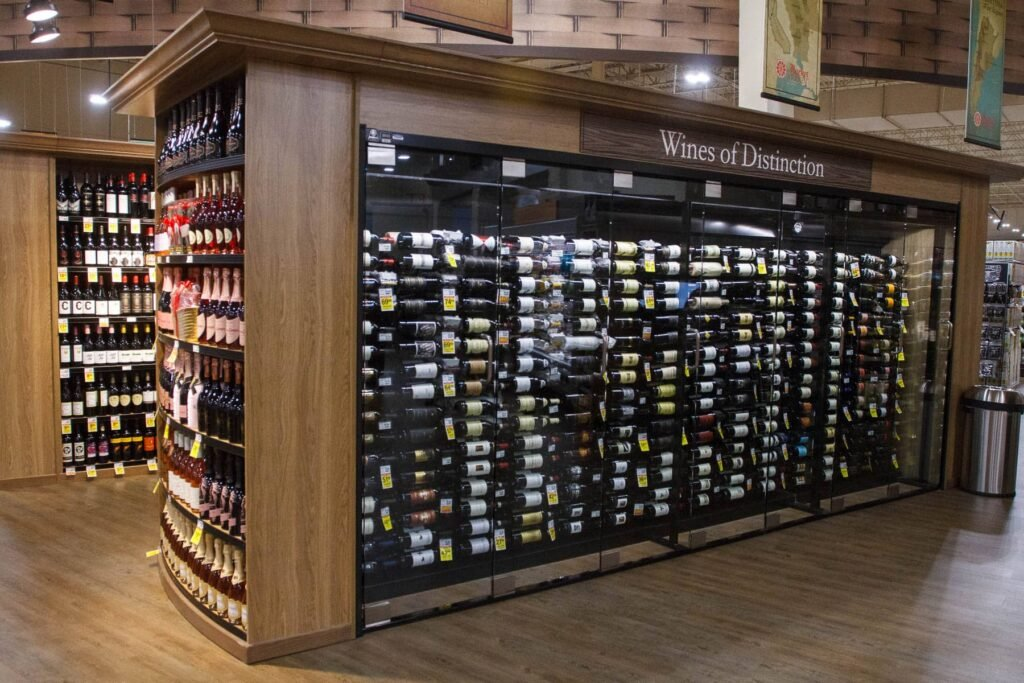 Market Street Frisco Wine Selection