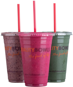 Vitality Bowls smoothies